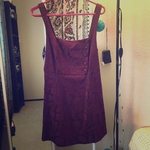 Wine Red Urban Outfitters Mini Dress
